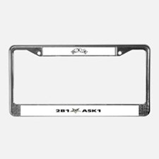 Cute Order eastern star License Plate Frame