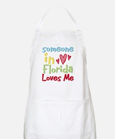 Someone in Florida Loves Me BBQ Apron
