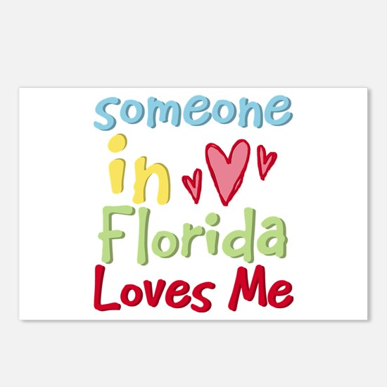 Someone in Florida Loves Me Postcards (Package of