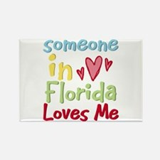Someone in Florida Loves Me Rectangle Magnet (100