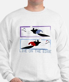 Live on the edge Slalom Sweater