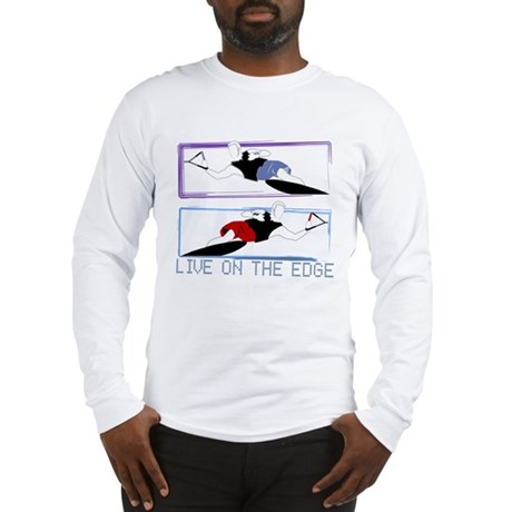 Live on the edge Slalom Long Sleeve T-Shirt