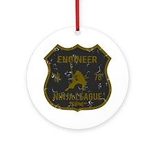 Engineer Ninja League Ornament (Round)