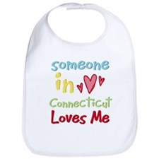 Someone in Connecticut Loves Me Bib