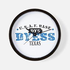 Dyess Air Force Base Wall Clock