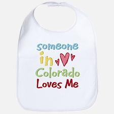 Someone in Colorado Loves Me Bib