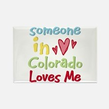 Someone in Colorado Loves Me Rectangle Magnet