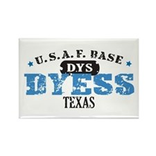 Dyess Air Force Base Rectangle Magnet