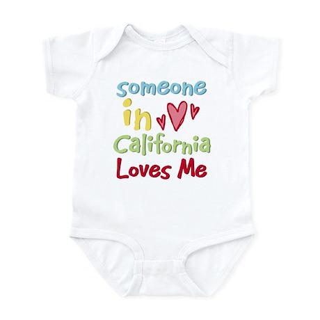 Someone in California Loves Me Infant Bodysuit