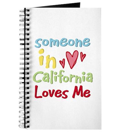 Someone in California Loves Me Journal