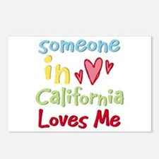 Someone in California Loves Me Postcards (Package