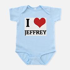 I Love Jeffrey Infant Creeper