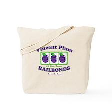 Vincent Plum Bail Bonds Tote Bag