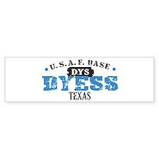 Dyess Air Force Base Bumper Car Sticker