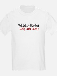 Toddlers Make History T-Shirt