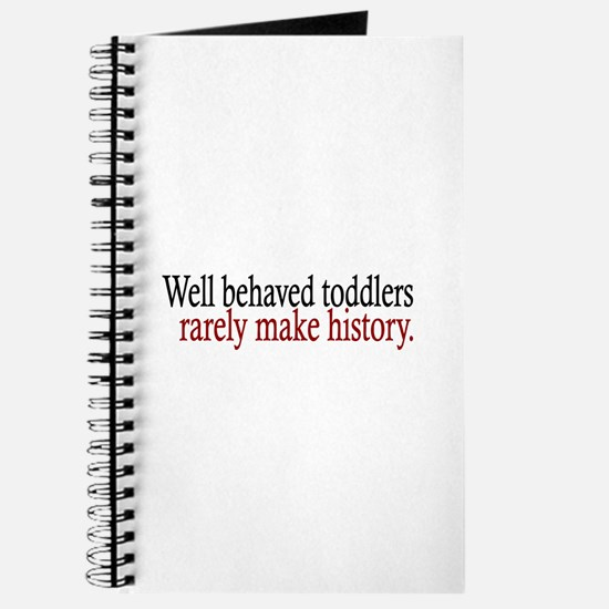 Toddlers Make History Journal