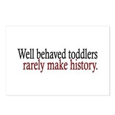 Toddlers Make History Postcards (Package of 8)
