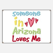 Someone in Arizona Loves Me Banner