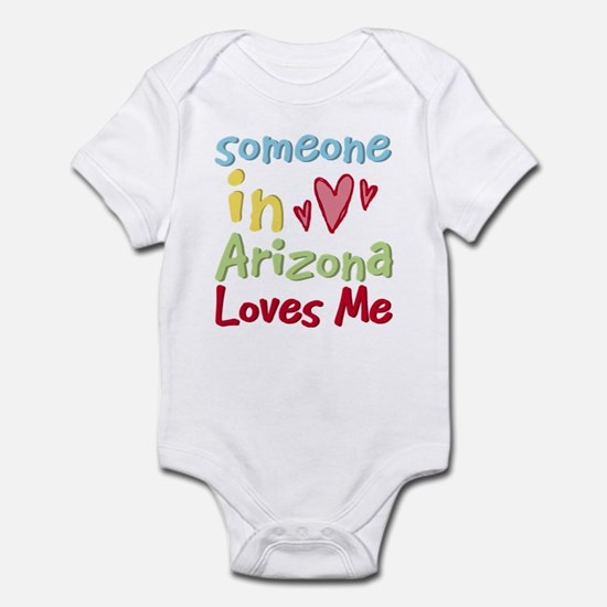 Someone in Arizona Loves Me Infant Bodysuit
