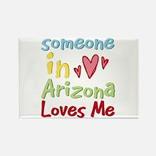 Someone in Arizona Loves Me Rectangle Magnet