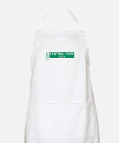 Central Park South in NY BBQ Apron