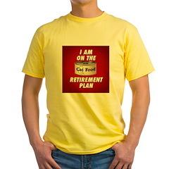 CAT FOOD Yellow T-Shirt