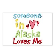 Someone in Alaska Loves Me Postcards (Package of 8