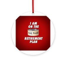 CAT FOOD Ornament (Round)