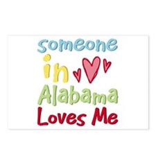 Someone in Alabama Loves Me Postcards (Package of