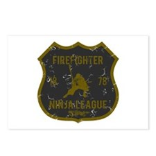 Firefighter Ninja League Postcards (Package of 8)