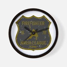 Firefighter Ninja League Wall Clock