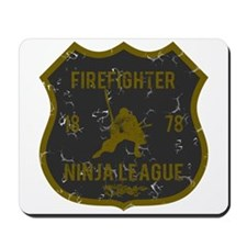 Firefighter Ninja League Mousepad