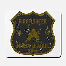 Firefighter Ninja League Mousepad