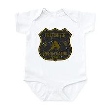 Firefighter Ninja League Infant Bodysuit