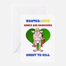 """""""Shoot to Kill"""" Greeting Card"""