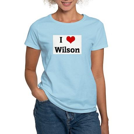 I Love Wilson Women's Light T-Shirt