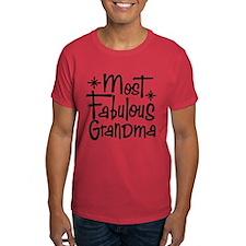 Most Fabulous Grandma T-Shirt