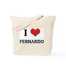 I Love Fernando Tote Bag