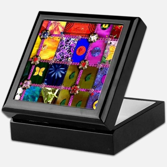 PC Quilt Sampler Keepsake Box