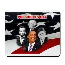Presidents Day Mousepad