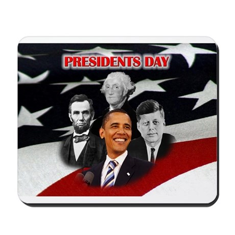 Presidents Day Mousepad