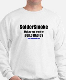 "SolderSmoke ""Build Radios"" Sweatshirt"