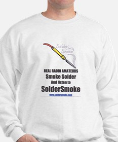 "SolderSmoke ""Real Radio Amateurs"" Sweats"