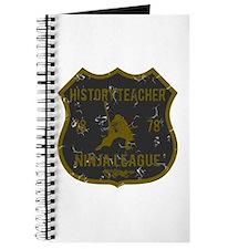 History Teacher Ninja League Journal