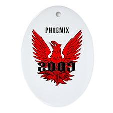 Phoenix 2009 Ornament (Oval)