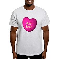 """EAT SHIT"" Heart Candy T-Shirt"