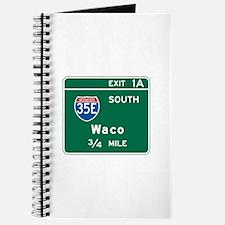 Waco, TX Highway Sign Journal