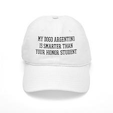 Smart My Dogo Argentino Baseball Cap
