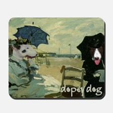 Bull Terrier MONET Mousepad