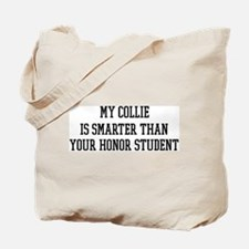 Smart My Collie Tote Bag